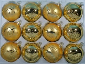 Sada vánočních ozdob - koule 711 290 28-7 243-204