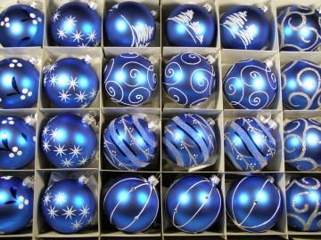 Sada vánočních ozdob - koule 712 452 42-7 834