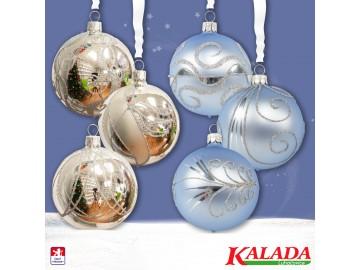 Sada vánočních ozdob - koule 712 490 18-7 103-mb
