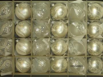 Sada vánočních ozdob - koule 712 490 29-7 100-104