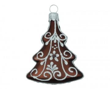 Vánoční ozdoba perník, čokoládová