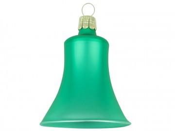 Vánoční zvonek lahvový, matný