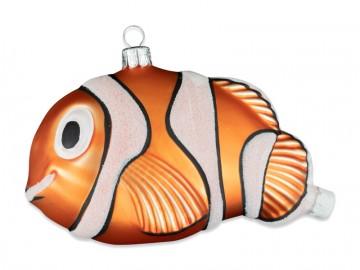 Skleněné zvířátko ryba