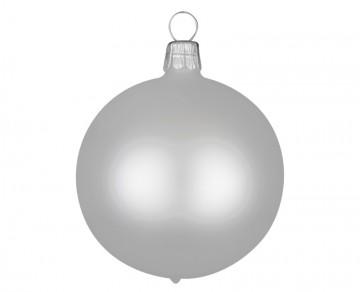 Vánoční koule perleťová, matná