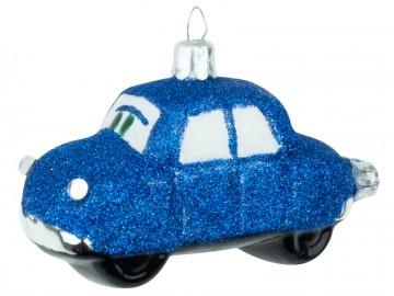 Skleněné auto, tmavě modré