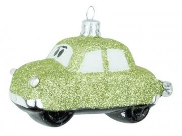 Skleněné auto, zelené