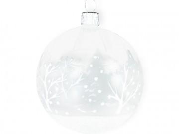 Vánoční koule čirá