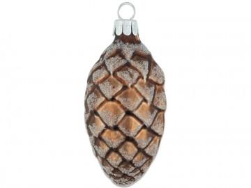 Přírodní tvar šiška, čokoládová