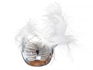Skleněný pták, stříbrný