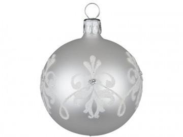 Vánoční koule perleťová