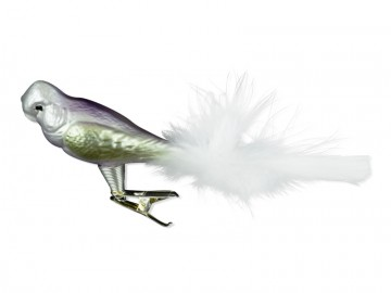 Skleněný ptáček, perleťový