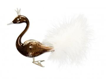 Skleněná labuť, čokoládová