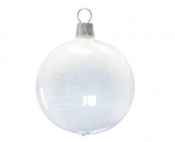 Vánoční koule porcelánová , porcelánový odlesk