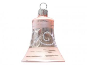 Vánoční zvonek pudrový, spirálka