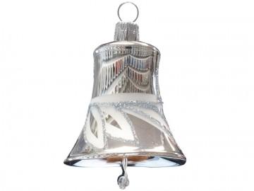 Vánoční zvonek stříbrný, lístky