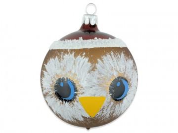 Vánoční koule Sova