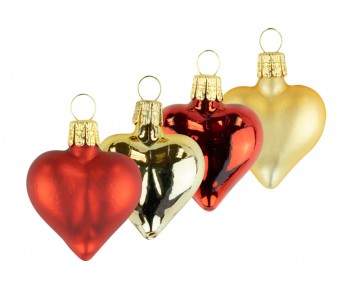 Vánoční srdce mix