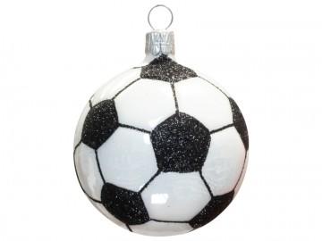 Vánoční ozdoba fot. míč, porcelánová