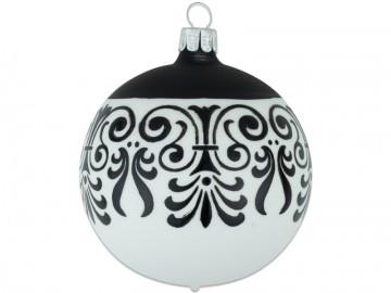 Vánoční koule skořápka, ornament
