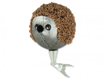Skleněné zvířátko ježek