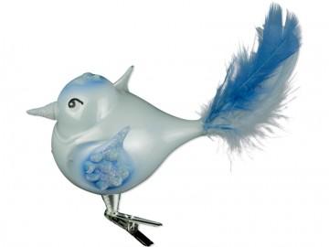 Skleněný ptáček, porcelánový