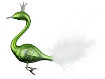 Skleněná labuť, olivová