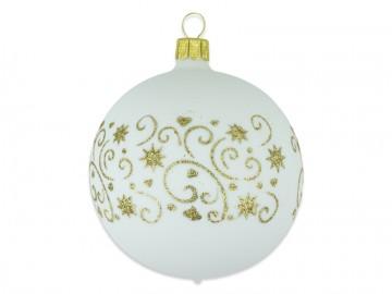 Vánoční koule skořápka, hvězdičky