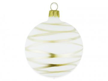 Vánoční koule skořápka, čáry