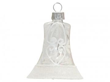 Vánoční zvonek krajka