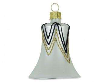 Vánoční zvonek perleťový, rampouchy