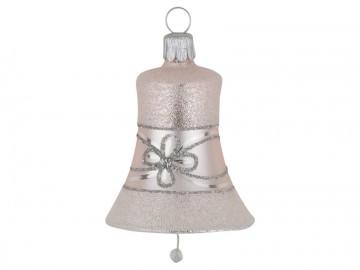 Vánoční zvonek pudrový, květ