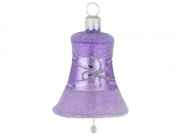Vánoční zvonek fialový světlý, květ