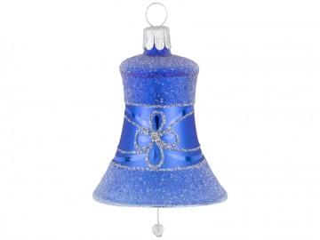 Vánoční zvonek modrý, květ