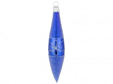 Vánoční raketa modrá, květ