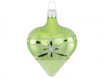 Vánoční srdce olivové, květ