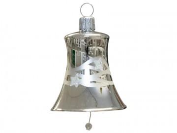 Vánoční zvonek stříbrný, vlny
