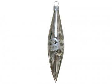 Vánoční raketa stříbrná, vlny