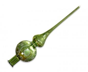 Vánoční špice olivová, kolečka