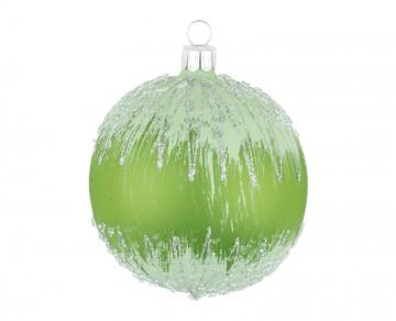 Vánoční koule olivová, mráz