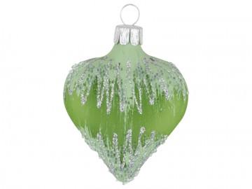 Vánoční srdce olivové, mráz