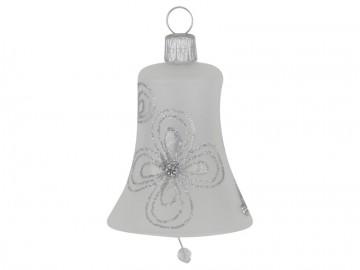 Vánoční zvonek perleťový, kytky