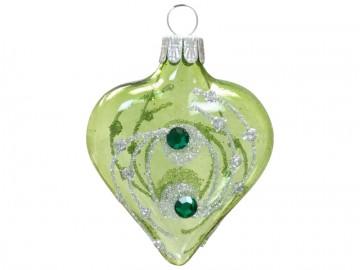 Vánoční srdce olivové, kola