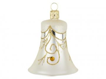 Vánoční zvonek šampáňo, závěs