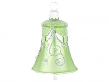 Vánoční zvonek olivový, závěs