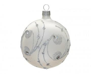 Vánoční koule perleťová, kola