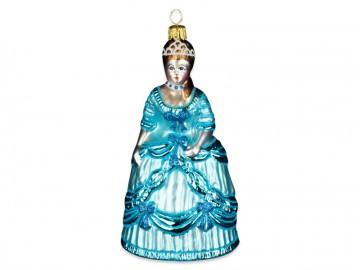 Skleněná figurka princezna
