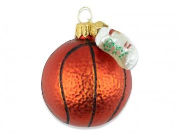 Vánoční ozdoba basket. míč