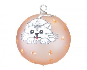Vánoční koule, dětský motiv