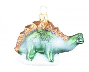 Skleněné zvířátko stegosaurus