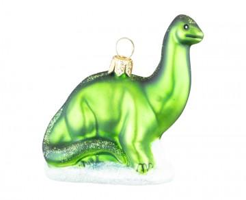 Skleněné zvířátko brontosaurus